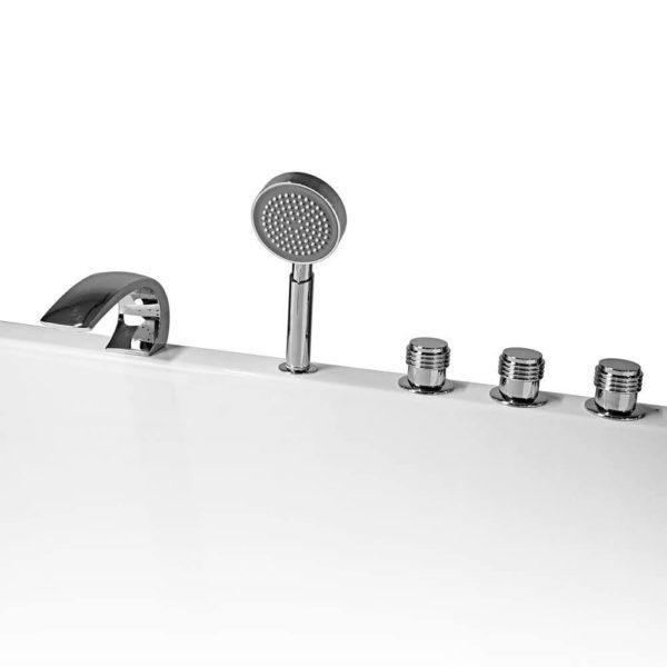 5-Loch Wannenrandarmatur für Badewanne