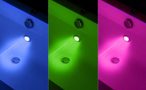 LED Beleuchtung für Badewanne Whirlpool