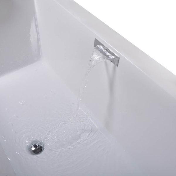 Integrierte Wasserfall-Armatur für Badewanne