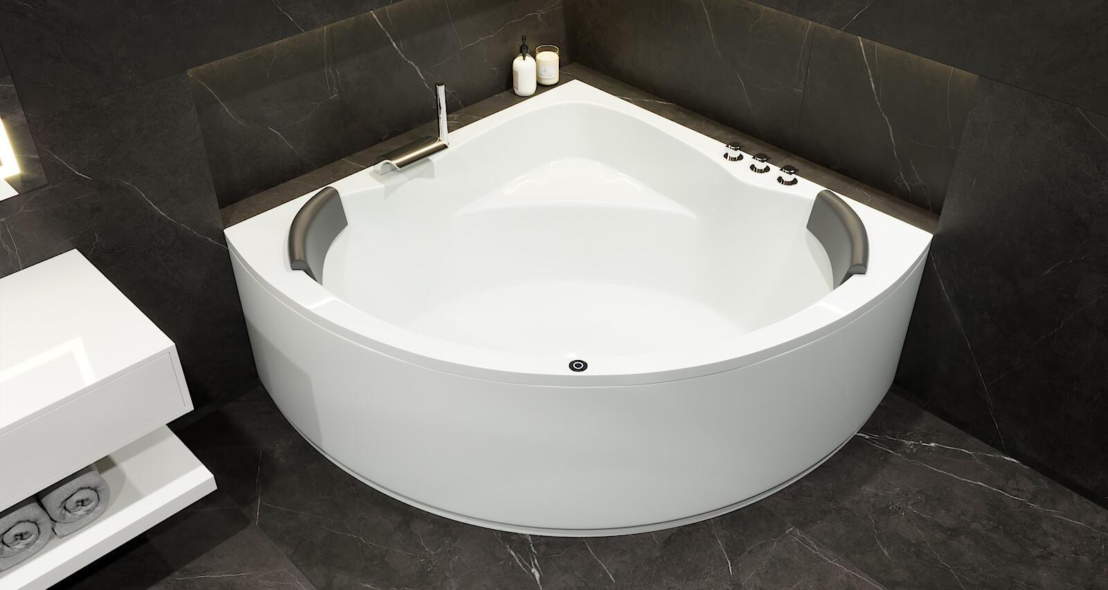 Badewanne Koblenz groß 140x140, 150x150 cm