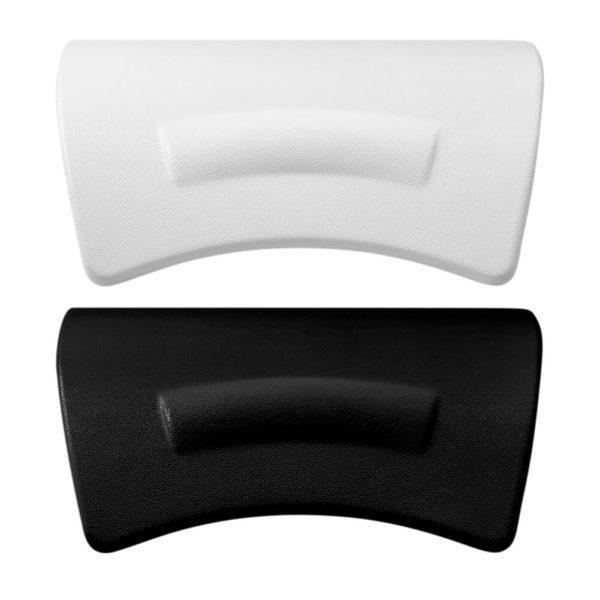 Badewannenkissen Alster, schwarz oder weiß