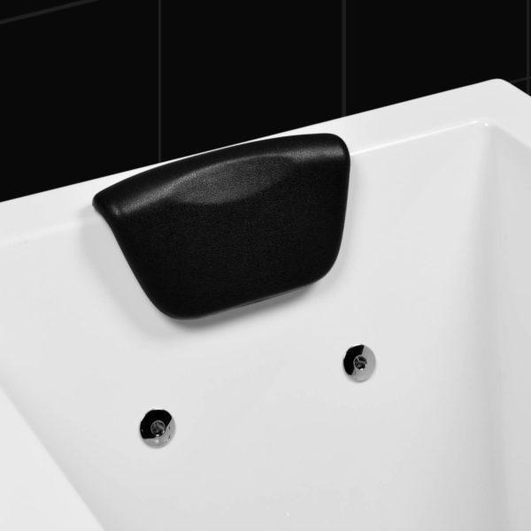 Kissen schwarz für Badewanne