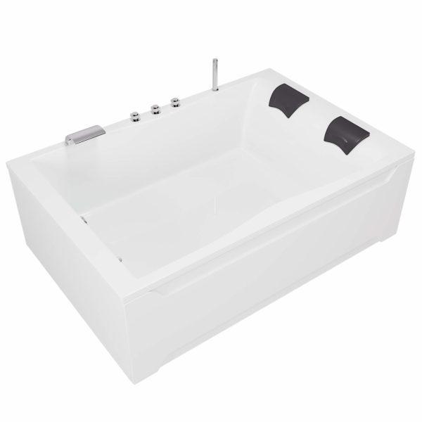 Rechteck-Badewanne für zwei Hamburg 120x180 cm