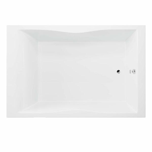 Rechteck-Badewanne für zwei Hamburg 180x120 cm