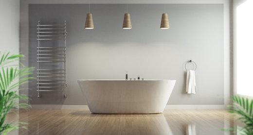 Eine Acryl-Badewanne: traumhafte Ideen für Ihr Badezimmer