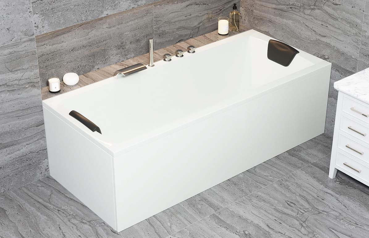 Acryl Rechteck Badewanne Bremen Körpergröße 180 x 80