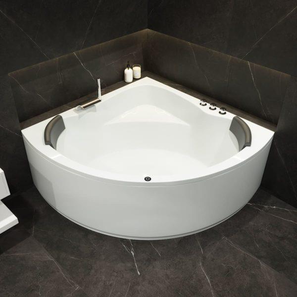 Große Eck Badewanne Koblenz Masse 150x150 cm