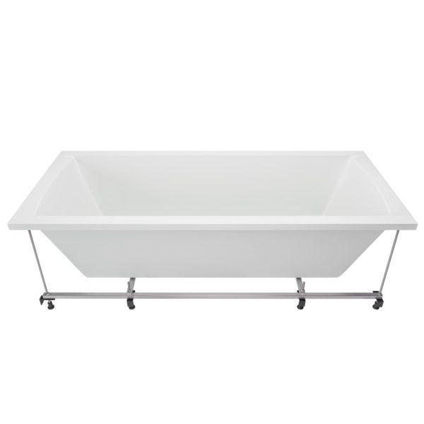 Rechteck Badewanne 180 x 80 cm mit Untergestell
